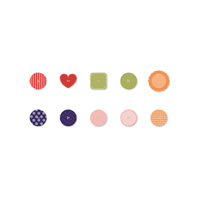 In color buttons