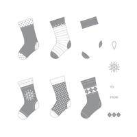 Stitched stocking