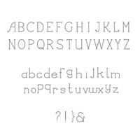 Simply serif