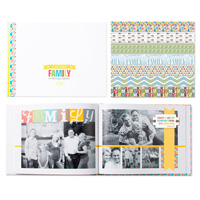 Family spotlight photobook