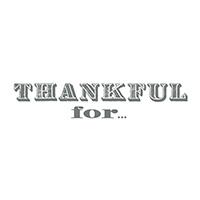 Thankful stamp