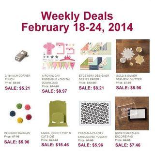 Weekly deal 2-18