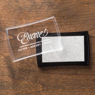 Silver metallic pad