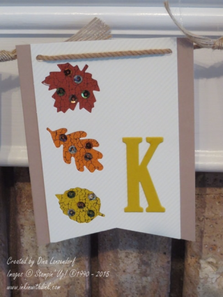 October 2016 paper pumpkin banner
