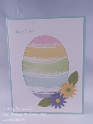 Easter card, Inkin With Dink