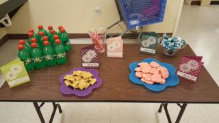 In-color snacks