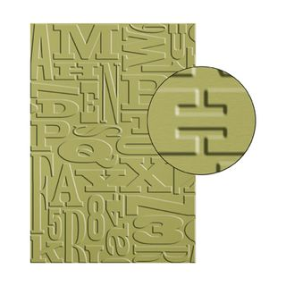 Alphabet press