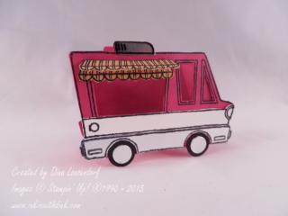 Tasty Truck stamp set, Inkin With Dink