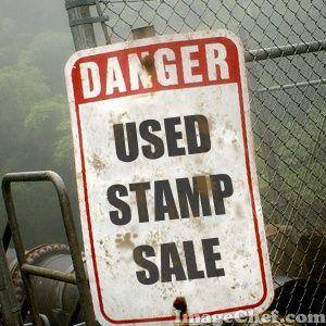 Used stamp sale