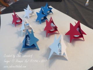 star Hershey kiss holder, Inkin With Dink