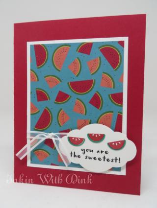 Fruit Basket, Inkin With Dink