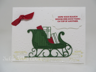 Santa's Sleigh, Inkin With Dink