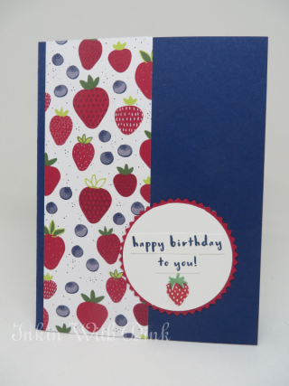 Fruit Basket stamp set, Inkin With Dink