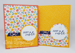 Simply Citrus card kit, Inkin With Dink