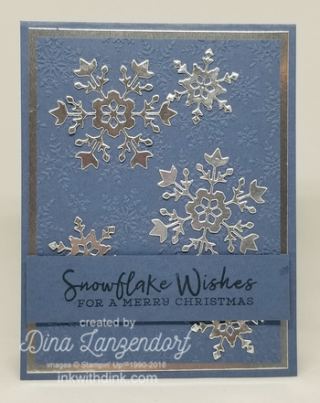 Snowflake Wishes Bundle, Inkin With Dink